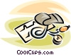 blood pressure cup Vector Clip Art picture