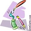 Vector Clipart graphic  of a paint tubes