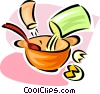 Vector Clip Art picture  of a baking