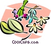 flowers Vector Clip Art graphic