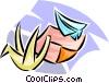 origami Vector Clip Art picture