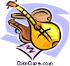 guitars Vector Clip Art picture