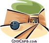bowling alley Vector Clip Art picture