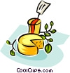 cheese for sale Vector Clipart picture