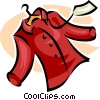 Vector Clipart illustration  of a garment with sales tag