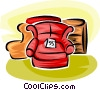 Vector Clipart illustration  of a furniture retail sales