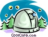 Vector Clipart illustration  of a observatory