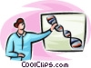 DNA Vector Clip Art picture