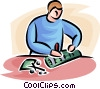 researcher Vector Clip Art picture