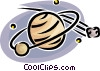 planetary bodies Vector Clip Art picture
