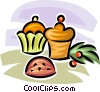 Vector Clipart graphic  of a Christmas baking