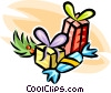 Vector Clipart image  of a Christmas presents