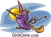 witch Vector Clip Art picture