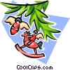 Christmas decoration Vector Clipart illustration