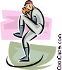 baseball pitcher Vector Clip Art image