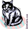 cat Vector Clipart graphic