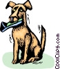 Vector Clipart illustration  of a Misc Dogs