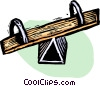 teeter-totter Vector Clipart picture