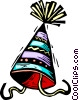 party hat Vector Clip Art graphic