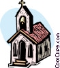 Churches Vector Clipart graphic