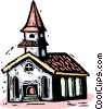Churches Vector Clip Art image