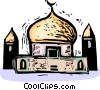 Mosques Vector Clipart illustration