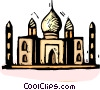 Vector Clip Art image  of a Mosques