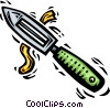 Vector Clipart image  of a Potato Peelers