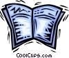 Vector Clipart graphic  of a Periodicals Newspapers
