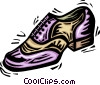 dress shoe Vector Clipart illustration