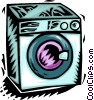 Clothes Dryers Vector Clip Art picture