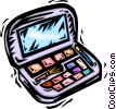 Vector Clip Art picture  of a Misc Makeup