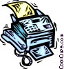 Fax Machines Vector Clip Art picture