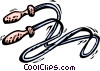 Vector Clip Art picture  of a skipping rope
