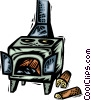Wood Stoves Vector Clipart image