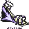 Vector Clipart graphic  of a dress shoe