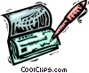 Vector Clipart graphic  of a Checks