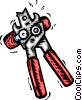 Can Opener Vector Clipart illustration