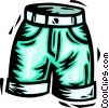 shorts Vector Clipart illustration