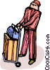 bellhop Vector Clipart picture