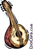 Vector Clip Art picture  of a Spanish guitar