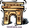 Arc de Triomphe Vector Clipart picture
