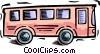 Vector Clipart image  of a bus