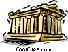 Parthenon Vector Clipart illustration