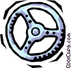 steering wheel Vector Clip Art picture