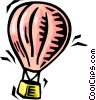 Vector Clipart illustration  of a hot air balloon