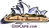 Sydney Opera House Vector Clipart illustration