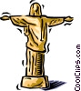 Jesus Vector Clip Art graphic