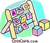 blocks Vector Clipart picture