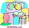 classroom Vector Clipart picture